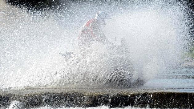Dakar 2013: Undécima etapa 'pasada por agua'