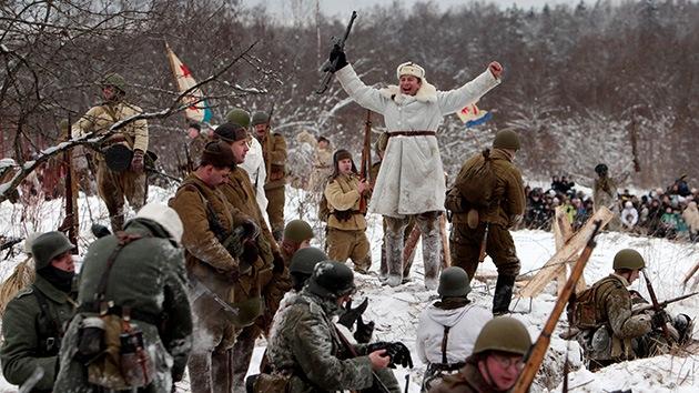 Video: Reconstruyen la batalla Trueno de Enero, que puso fin al sitio de Leningrado