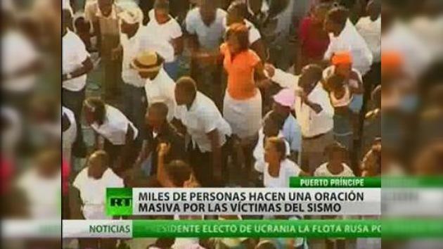 Haití reza por sus muertos