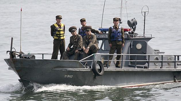 Corea del Sur lanza varios disparos de advertencia a un barco patrulla del Norte