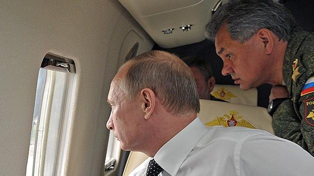 El presidente Putin ordena una revisión sorpresa de las tropas