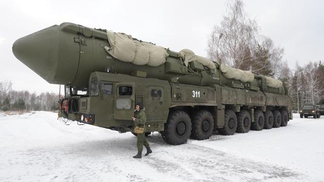 El Ejército ruso recibirá el nuevo misil balístico Yars-M en 2013