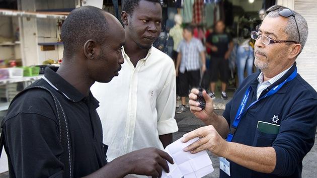 Israel exige muestras de ADN a los refugiados africanos