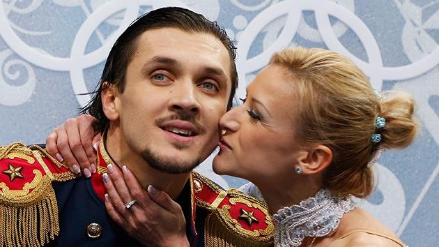 Corazones unidos por el amor olímpico