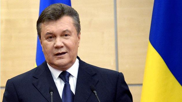 Yanukóvich llama a su pueblo a celebrar un referéndum en cada región de Ucrania