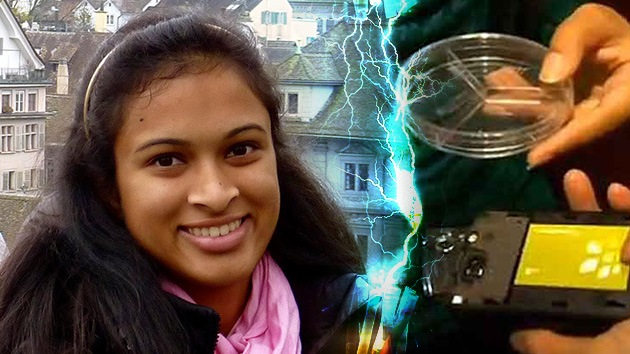 ¿Baterías recargables de un 'chispazo'?: Una joven propone cargar móviles en 20 segundos