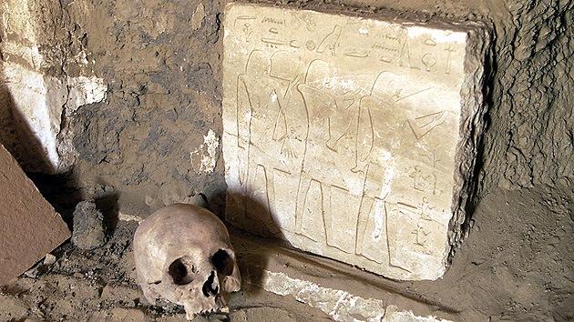 Hallan los restos de una epidemia del 'fin de mundo' en el Antiguo Egipto