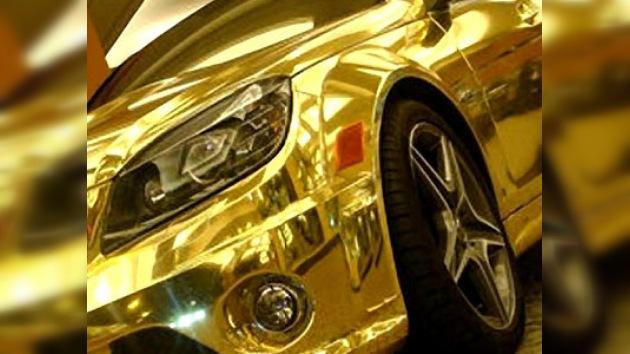 La exposición de Dubai presentará un Lexus 'de oro'