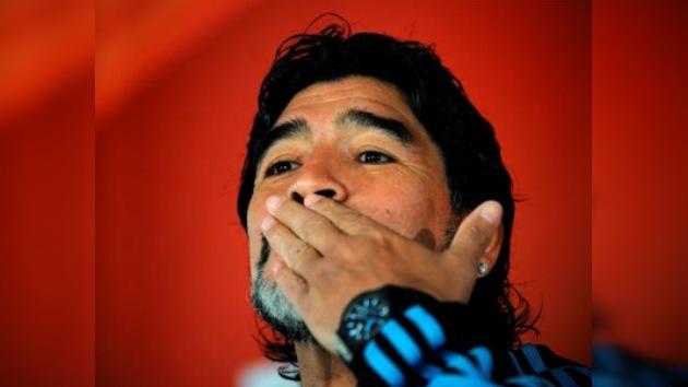 Maradona no seguirá al mando de la selección argentina