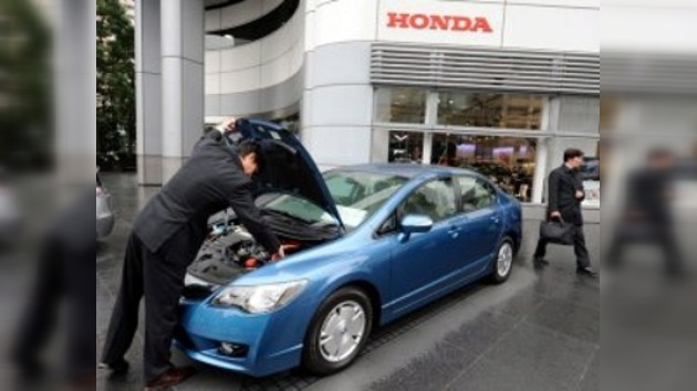 """Honda retira 167.000 coches por peligro de """"humo o incendio"""" en EE. UU."""