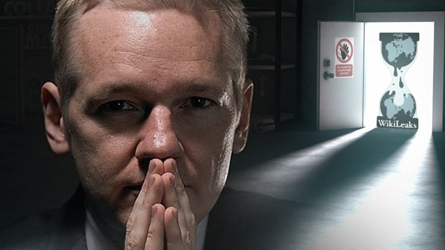 """Assange a RT: """"EE.UU. se aferrará al espionaje igual que a las armas nucleares"""""""