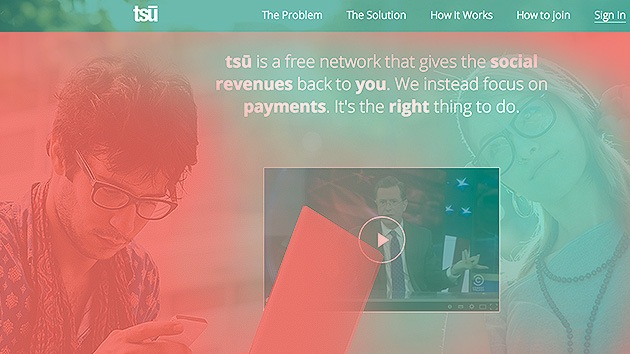Nace tsu, la red social que paga a sus usuarios por los contenidos