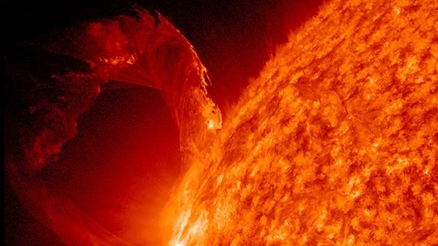 Una erupción solar puede causar una tormenta geomagnética en los próximos días