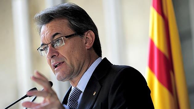 El presidente catalán pide a la UE soluciones para independizarse de España