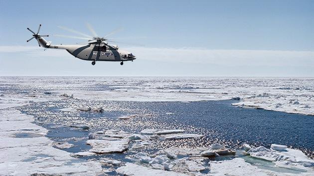 Aviadores rusos descubren unas nuevas islas en el Océano Glacial Ártico