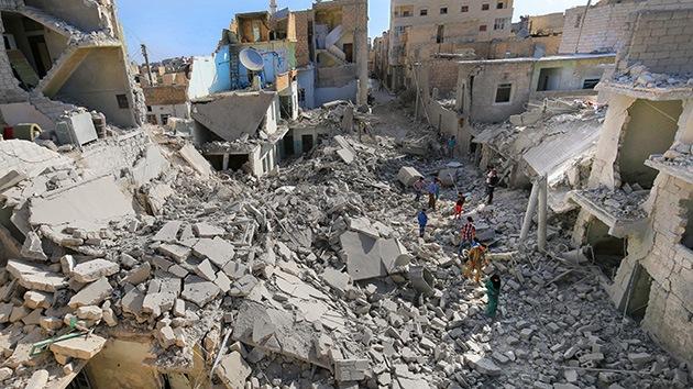 Muertes que no fueron: el Pentágono niega la muerte de civiles en los bombardeos en Siria