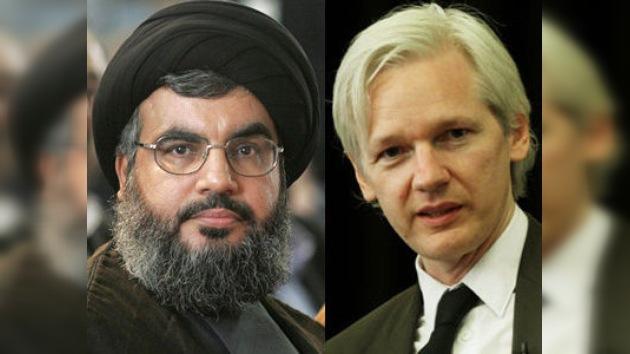 El líder de Hezbolá cara a cara con Assange: el fichaje estelar debuta en RT