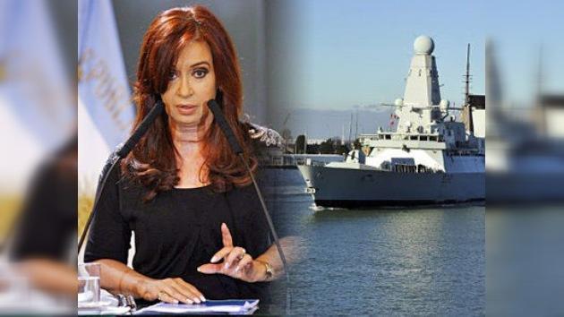 """Argentina al Reino Unido: """"Más diplomacia, menos armas"""""""