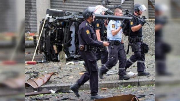 Aparece una imagen de Breivik captada 6 minutos antes del atentado en Oslo