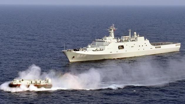 Expertos aseguran que China envía buques de guerra hacia Siria