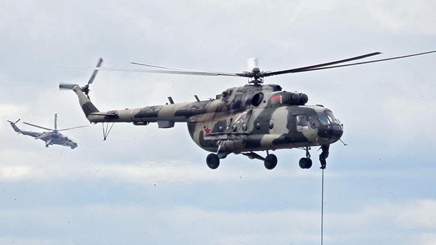 Diseñan en Rusia un helicóptero para las tropas del Ártico