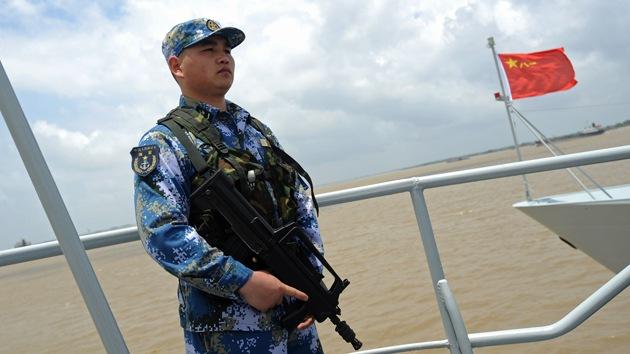 China realizará maniobras con fuego directo en el mar de la China Oriental