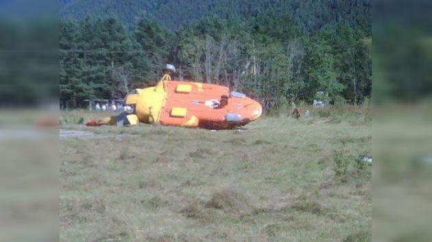 Un helicóptero con funcionarios a bordo cae en los montes del Cáucaso ruso