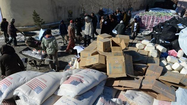 Reconstrucción de Afganistán: una 'fuga' de millones de dólares para EE.UU.