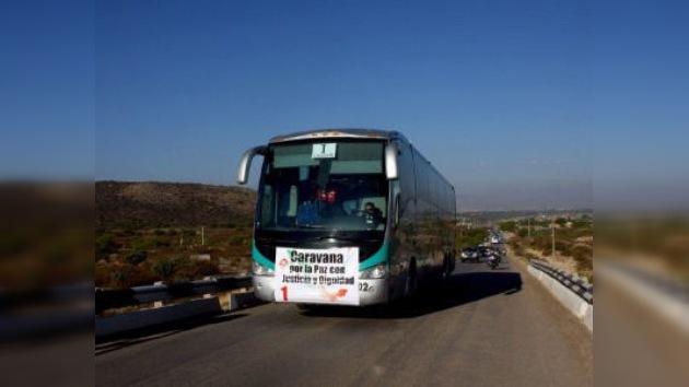 La 'Caravana del Consuelo' mexicana llega a Ciudad Juárez