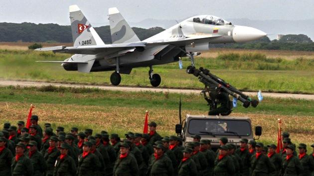 Venezuela estudia adquirir una nueva partida de cazabombarderos rusos Sukhoi