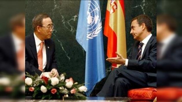 """Zapatero insta a China y EE.UU. a no """"aludir responsabilidades"""""""