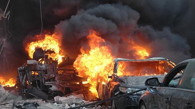 Siria: Dos coches bomba dejan 25 muertos y más de cien heridos