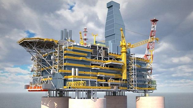 Rusia pone en marcha la mayor plataforma de perforación petrolera del país
