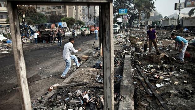 """Activista: """"El Ejército egipcio apretó el gatillo, pero Occidente cargó el arma"""""""