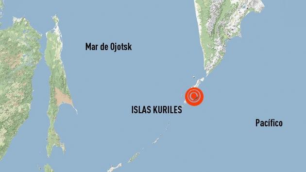 Fuerte sismo de 6,0 en la escala de Richter sacude las islas Kuriles