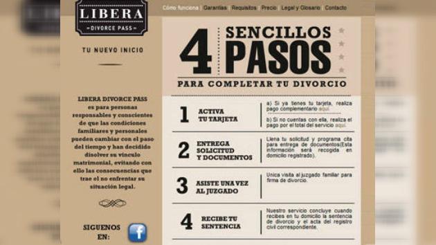 Divorcios a lo Speedy Gonzales: con tarjeta prepago y en sólo 4 pasos