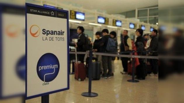 La aerolínea Spanair anuncia el cese de sus operaciones