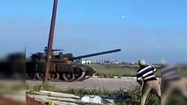 La ONU condena el uso de tanques y armas de fuego contra los manifestantes en Siria