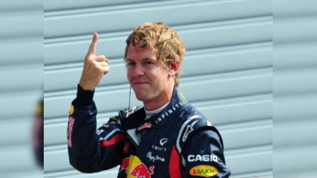 Vettel logra una nueva 'pole' en Monza
