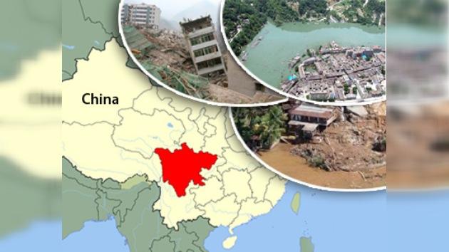 Se multiplican las víctimas por los desastres naturales en China