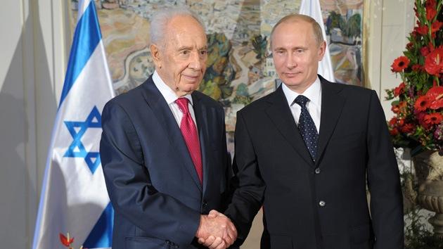 Putin en Israel: Estamos en contra de que la democracia llegue desde fuera