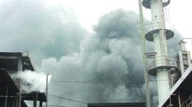 Explota una planta química en China