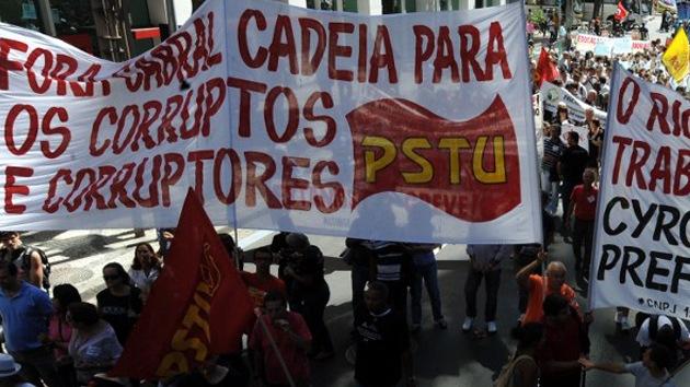 Las huelgas en Brasil pueden afectar al comercio internacional del país