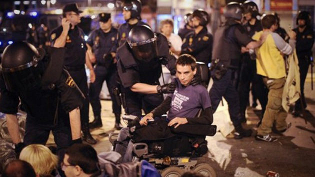 Democracia 'made in Spain': 4 años de cárcel por protestar