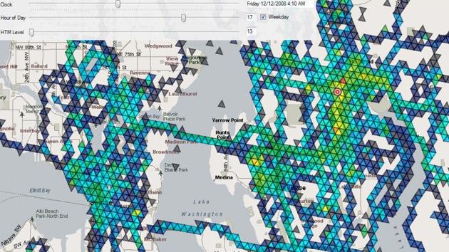 Un 'oráculo' con GPS: un programa predice dónde y a qué hora estaremos en unos años