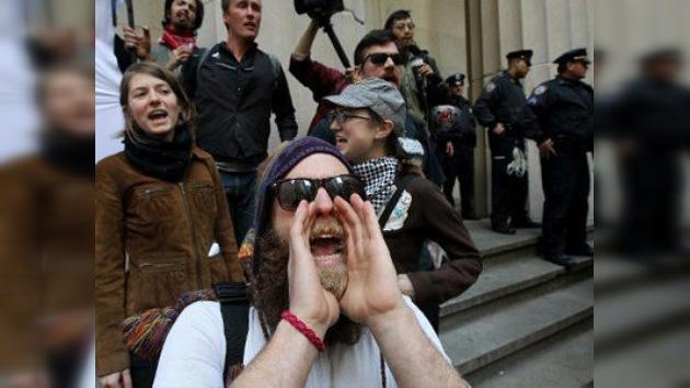 Indignados y Policía de EE. UU., listos para la gran huelga del 1 de Mayo