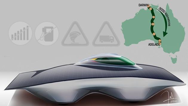 El primer auto solar hecho en Colombia correrá por el desierto australiano
