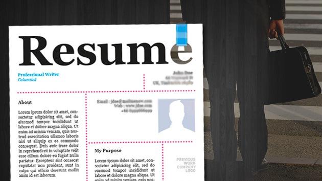 Los 5 errores que manchan su CV, según Google