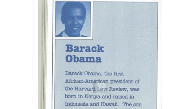 Obama nació en Kenia, según un folleto de 1991
