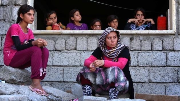 Irak: El Estado Islámico captura centenares de mujeres yazidíes